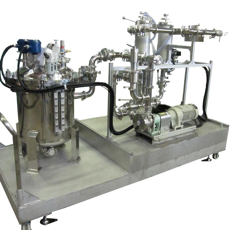 充填ライン給液用ポンプユニット(防爆)